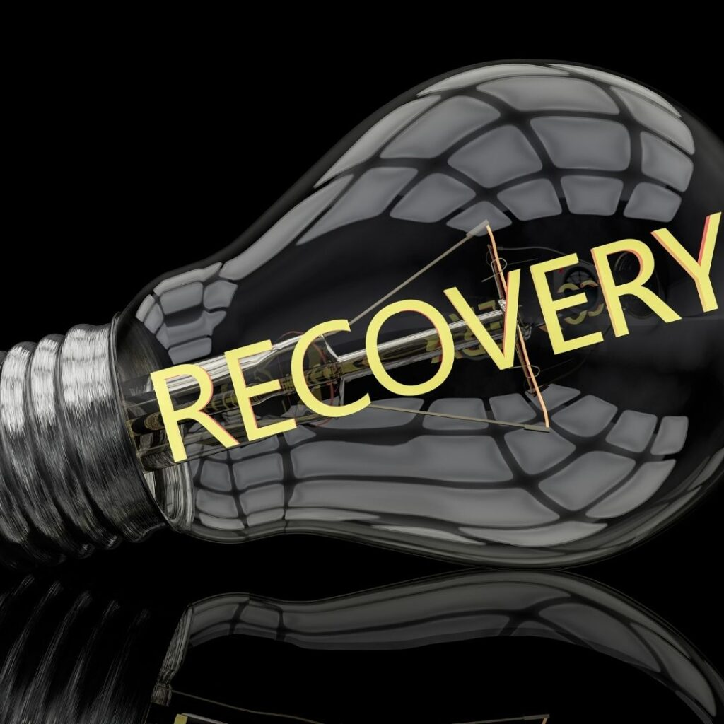 Recovery Lightbulb - Specialist Accounting Solutions