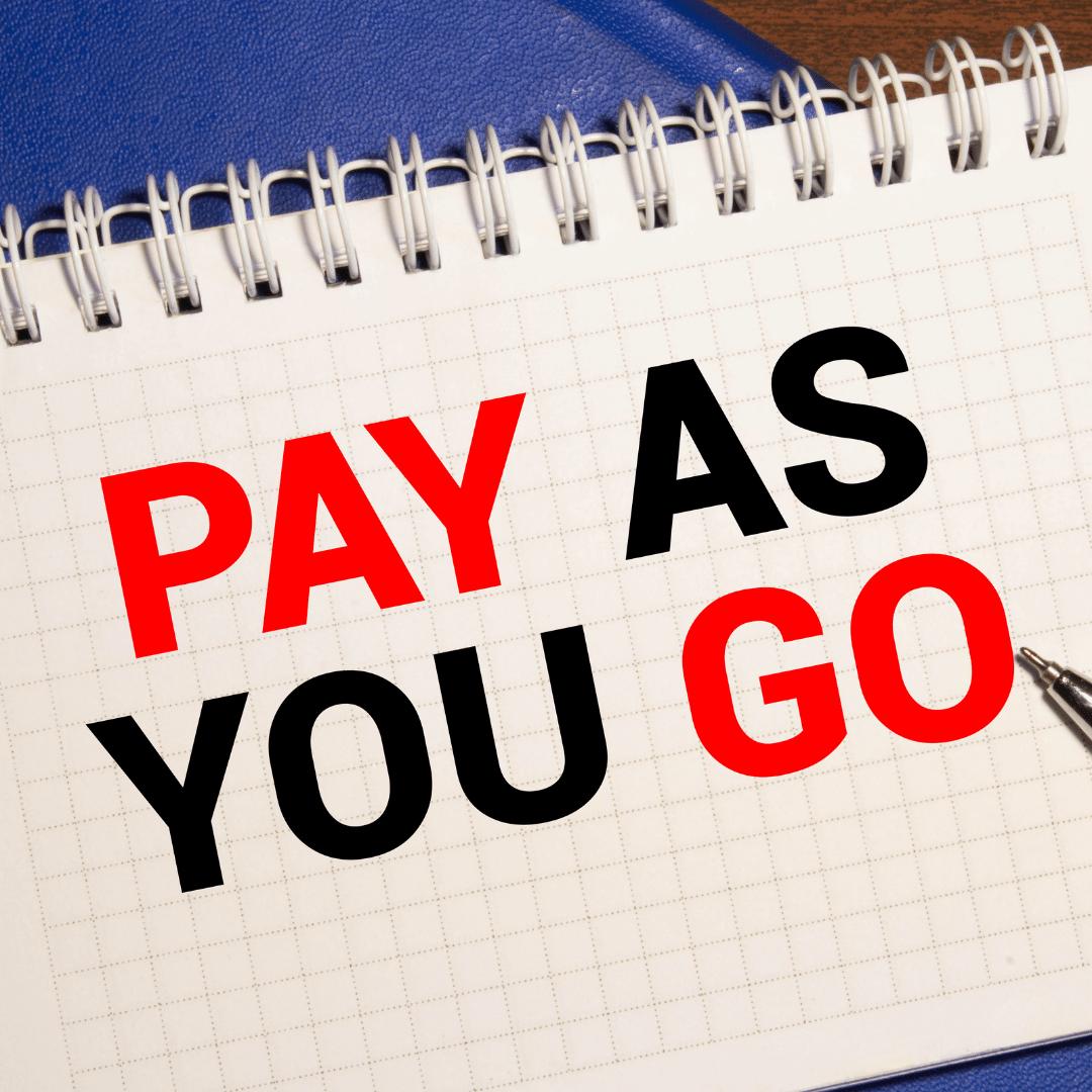 Pay as you go scheme